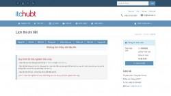Hướng dẫn tra cứu lịch thi tại website của Nhà trường