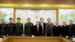Trường Đại học Kinh doanh và Công nghệ Hà Nội trao đổi về hợp tác đào tạo với Học viện Quân y